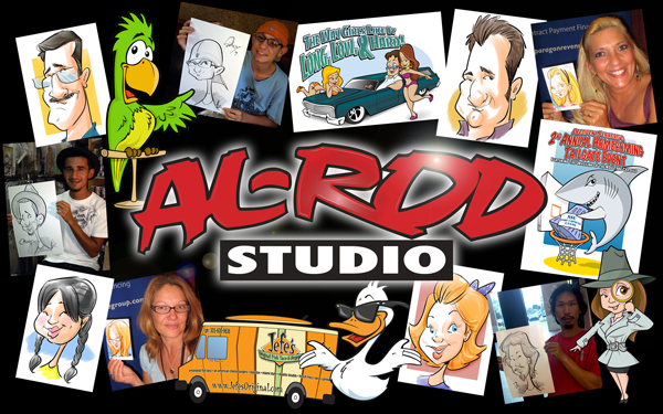 Caricatures, cartoonist, Florida, Miami, Tampa, Orlando, Keys, Naples